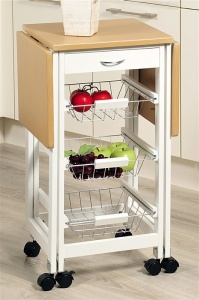 Carro de cocina extensible compra carros de cocina for Menaje cocina barato