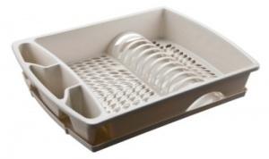 Escurreplatos de pl stico con bandeja accesorios de cocina for Menaje hogar online