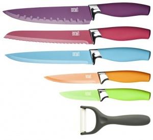 Juego de 5 cuchillos de cocina de colores - Juego de cuchillos de cocina ...