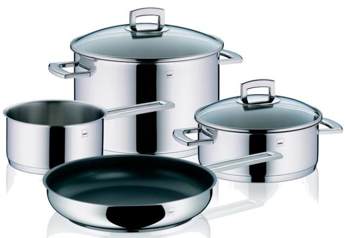 Bater a cocina acero inoxidable kela comprar bater as cocina for Bateria de cocina alemana