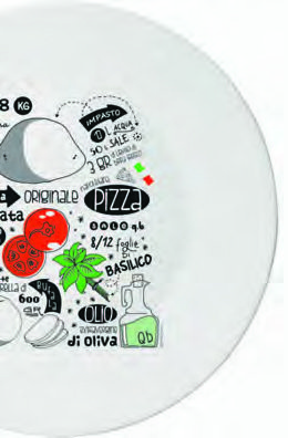 Plato de pizza receta for Platos de pizza