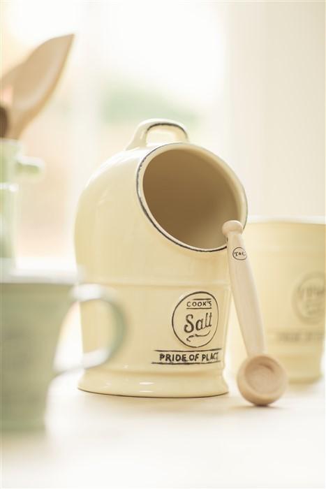 Salero de cocina r stico crema tienda de utensilios de for Saleros de cocina