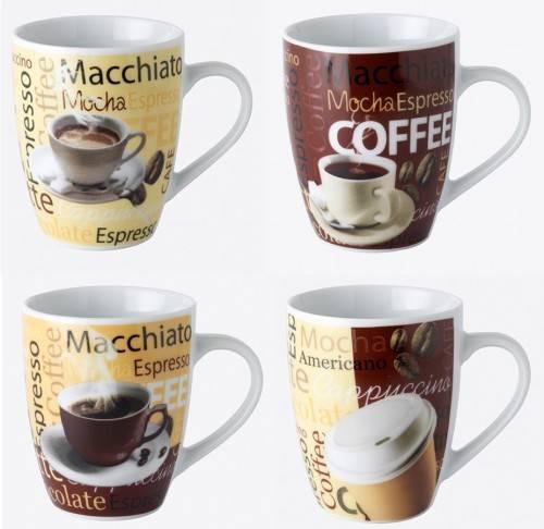 Mug de porcelana decorado tazas de caf mugs para hacer for Juego tazas cafe
