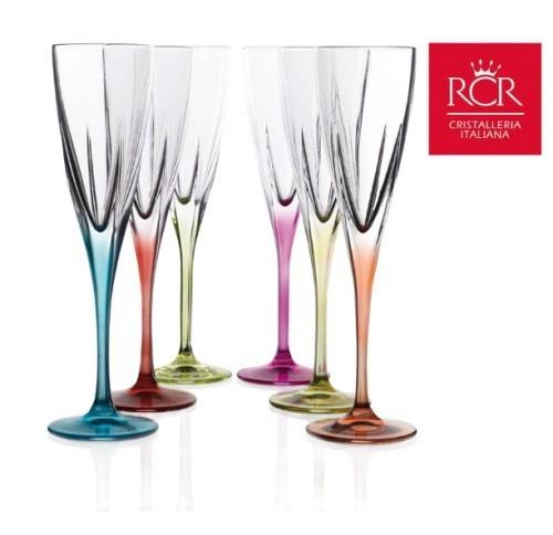 Copa fusion color de cava champ n comprar copas champagne for Copas para champagne