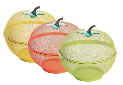 Comprar frutero rejilla con forma de manzana - Fruteros de cocina ...