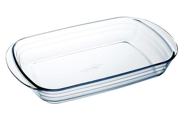 Fuente de vidrio rectangular para horno - Fuentes para horno ...