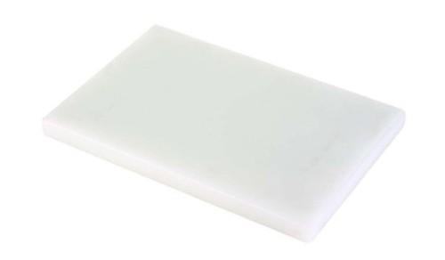 Tabla de corte blanca de polietileno tablas de cocina for Tablas de cocina profesionales