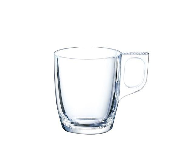 Taza de caf de vidrio tensionado tazas economicas - Vidrio plastico transparente precio ...