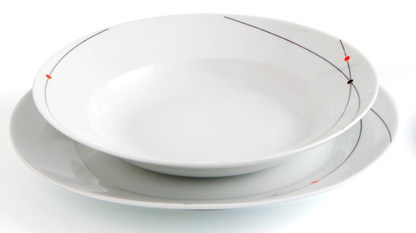 Vajilla aretha 18 piezas porcelana comprar vajillas baratas for Vajilla porcelana