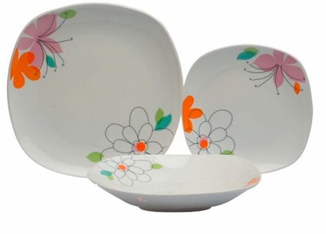 Vajilla splendor mirna 18 piezas comprar vajillas elegantes for Vajillas elegantes