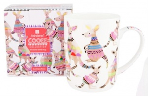 Mug Kangaroo cooee bone china