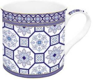 Taza azulejos juego de 4 menaje del hogar online for Menaje hogar online