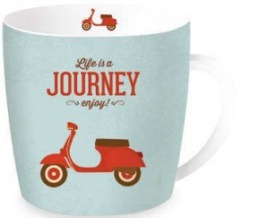 Taza journey vespa