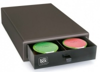 Caja 40 capsulas coffee box negra