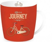 Taza journey bicicleta