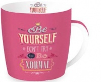 Tazas be yourself rosa