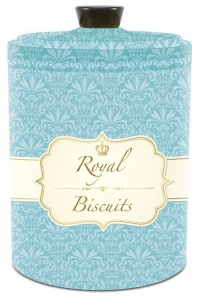 Bote Galletero con tapa antihumedad Royal Biscuits