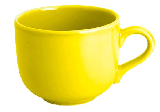 Taza Desayuno Jumbo Amarilla Tazas Jumbo De Colores Baratas