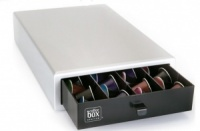 Caja 40 capsulas coffee box plata